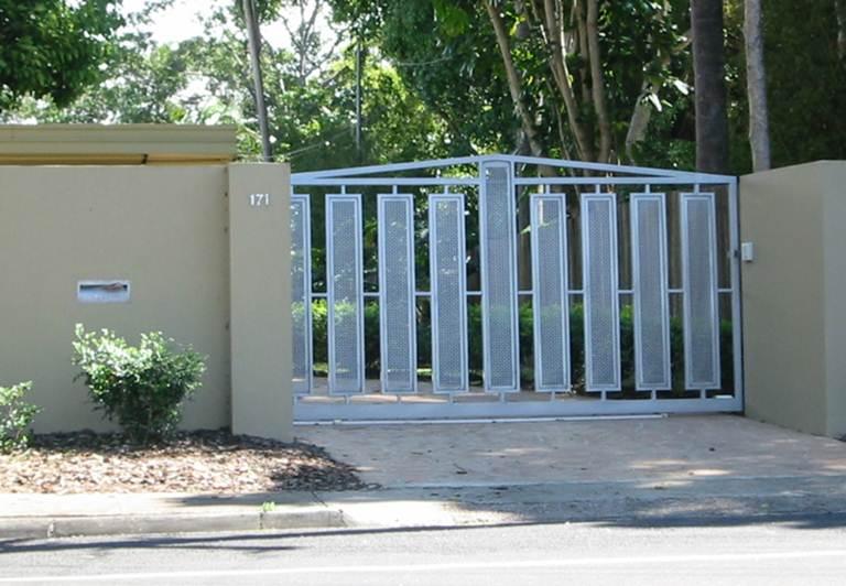 electric gates electric driveway gates brisbane gate designs garage gate designs