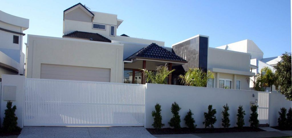 A stunning automatic security gate by east coast garage doors