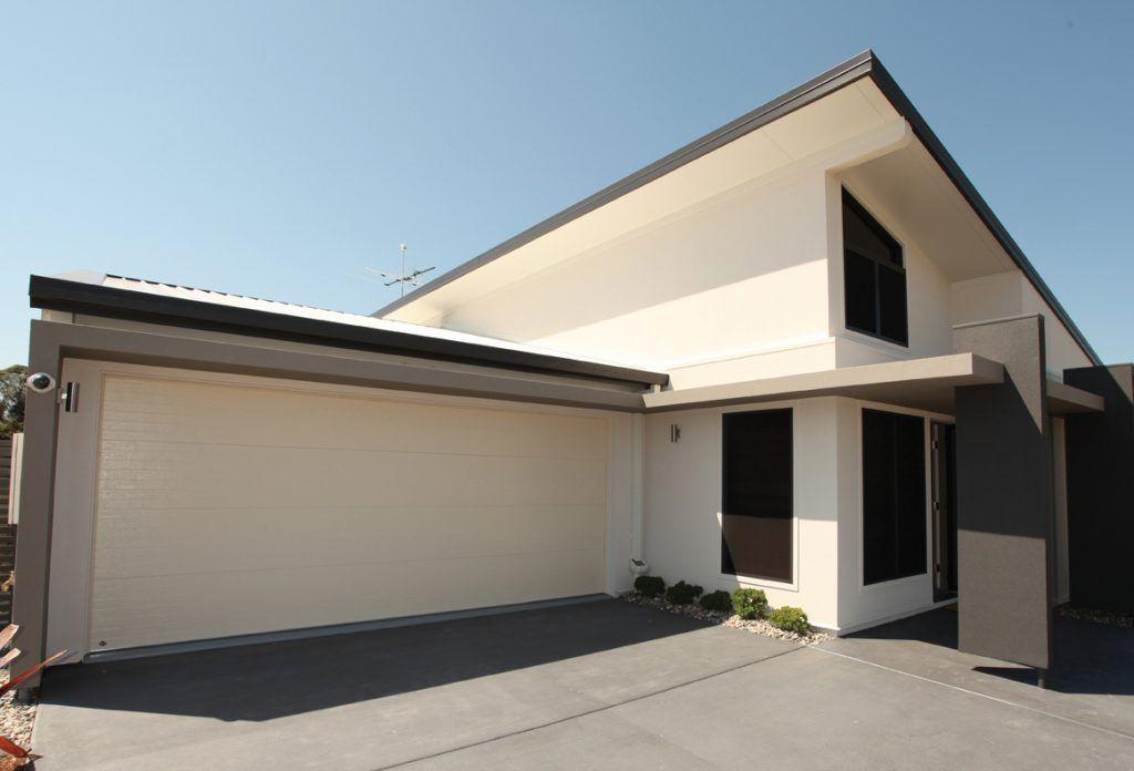 Energy saving garage door