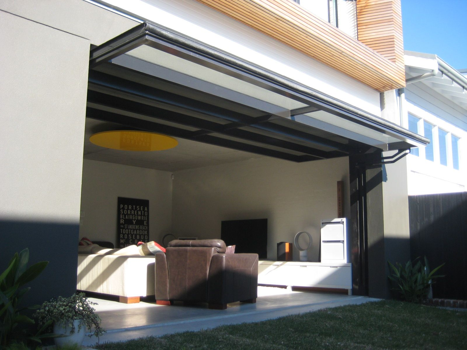 Sunshine Coast Glass Fold Up Window East Coast Garage Doors