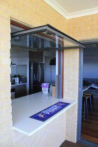 Gas Strut Servery Window