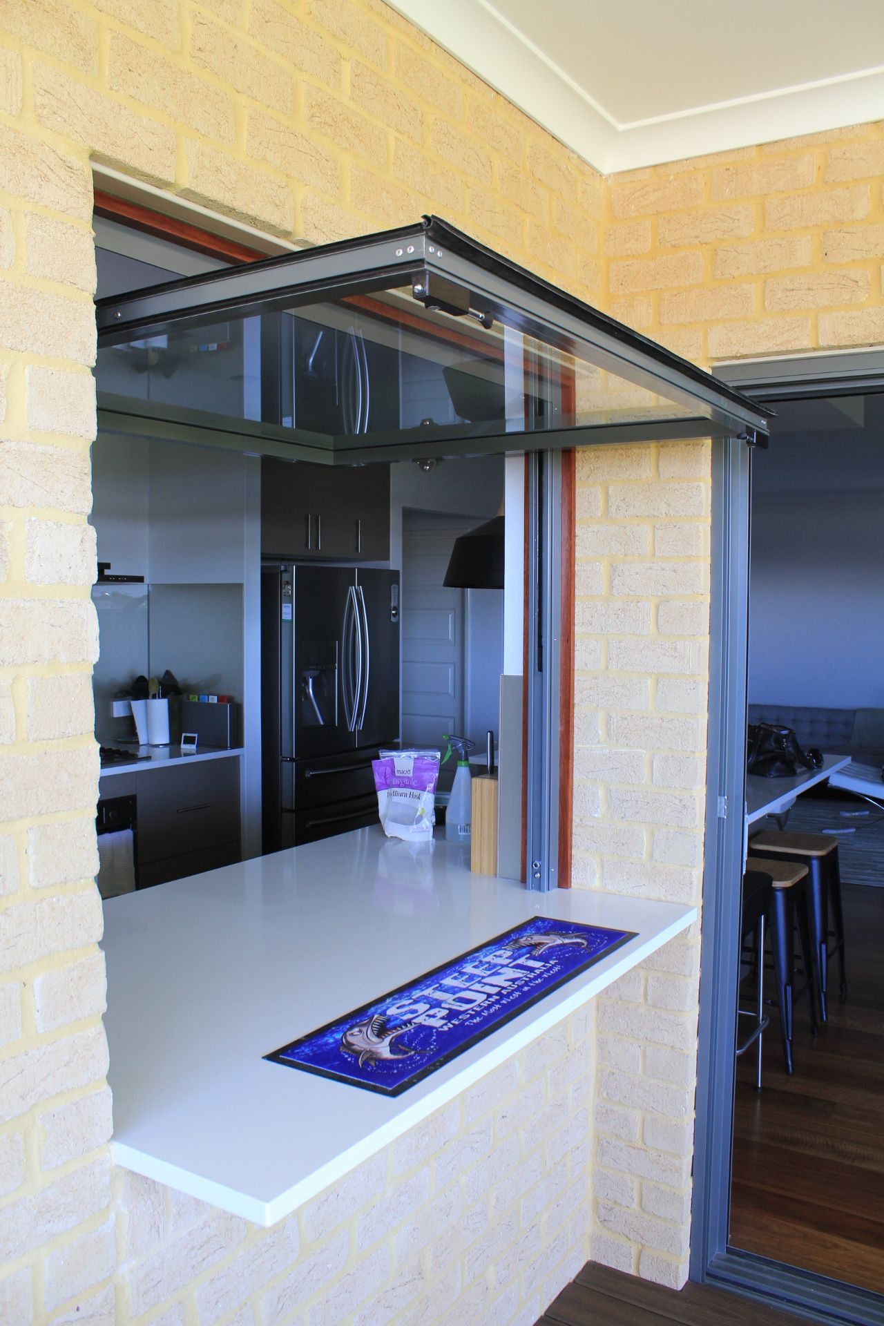 Vertical Glass Lift Up Doors And Windows For Brisbane And
