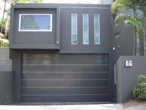 Brisbane garage door smooth vitrabond