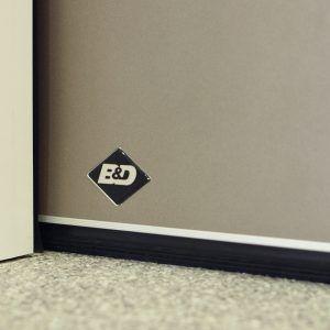 B d storm shield garage door for high wind areas east for Wind code garage doors