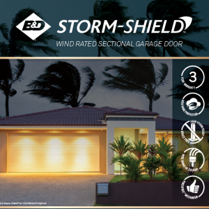 B&D Storm Shield wind rated sectional door brochure