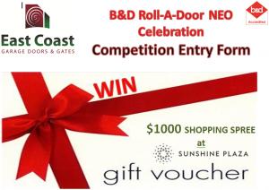 ECGDS RAD Neo competition 2019