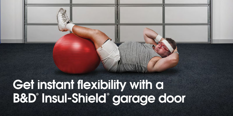 B&D Insul-Shield garage door insulation