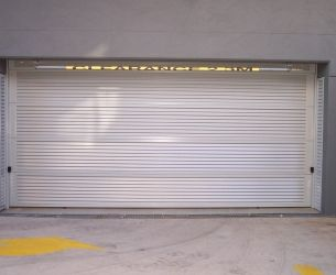 Aluminium Panel Lift Doors 006 Louvers 65x16mm