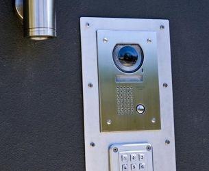 aiphone intercom and keypad
