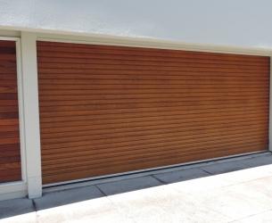 BND Golden Oak Roller Door