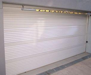 Aluminium Panel Lift Doors 009 Louver 65x16mm