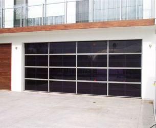 Black Perspex Panel Door 1