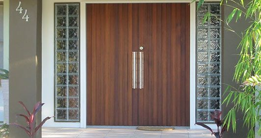 Cedar Entry Doors Photo Gallery