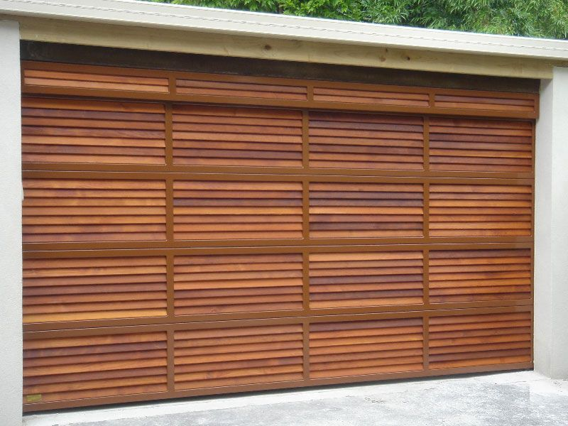 Custom Cedar Garage Door Range